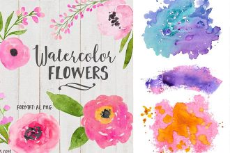 40+ Free Watercolor Elements and Tools for Artistic Design!