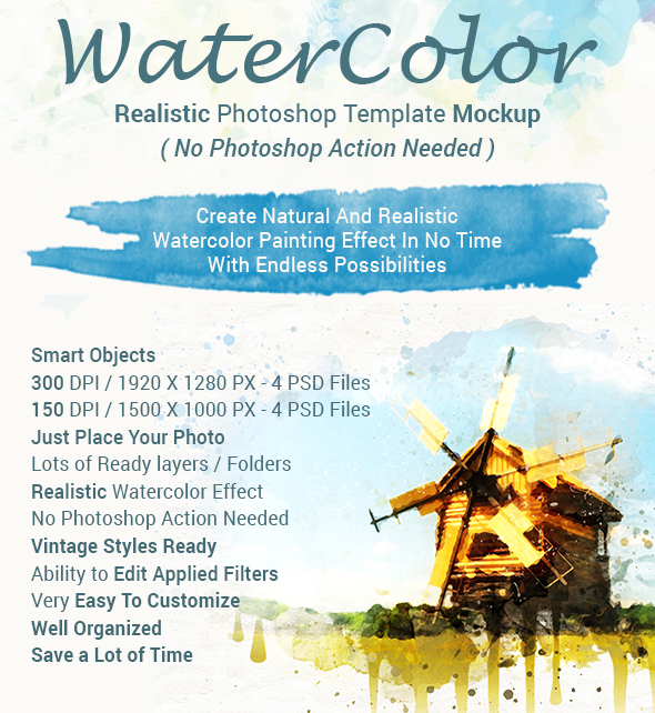 40+ Free Watercolor Elements and Tools for Artistic Design
