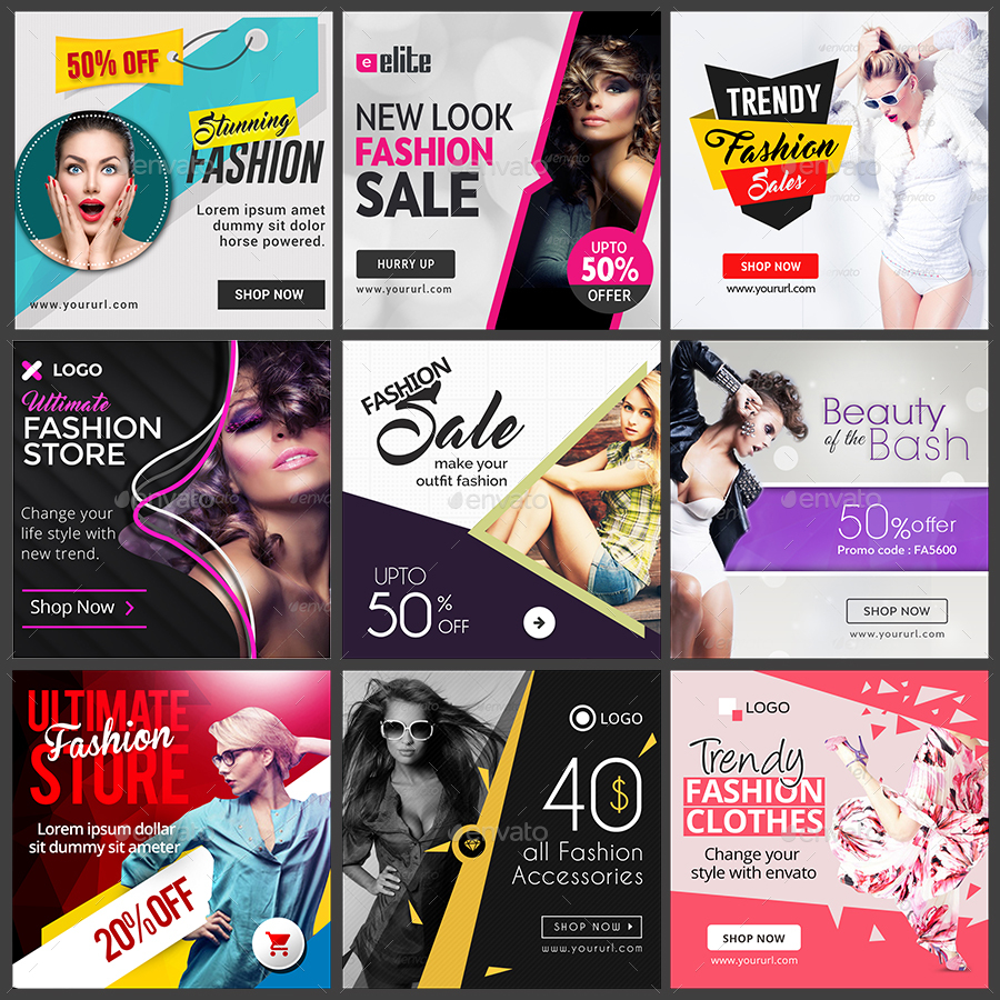 74+ FREE PSD INSTAGRAM FASHION TEMPLATES TO BE STYLISH AND ...
