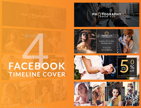 facebook timeline covers psd free download