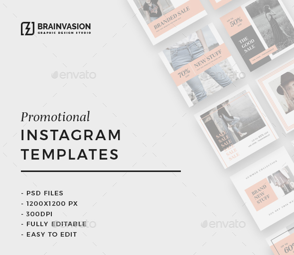 instagram psd templates free download