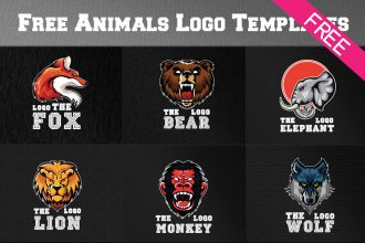Free Animals Logo Templates