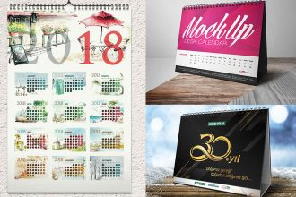 30 Free PSD Calendar Templates & Mockups to create the best design!