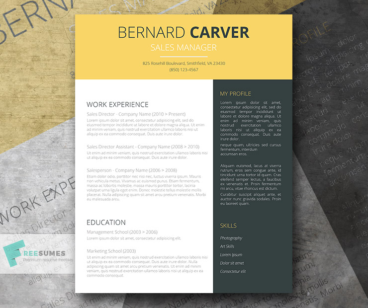 74  free psd cv   resume templates   cover letters to
