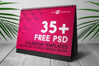 35+ Free PSD Calendar Templates & Mockups to create the best design!