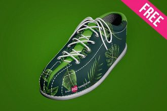 Free Shoe Mock-up in PSD