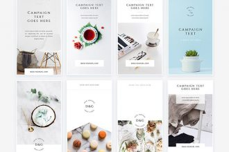 30+ Free PSD Instagram Fashion Templates to be Stylish!