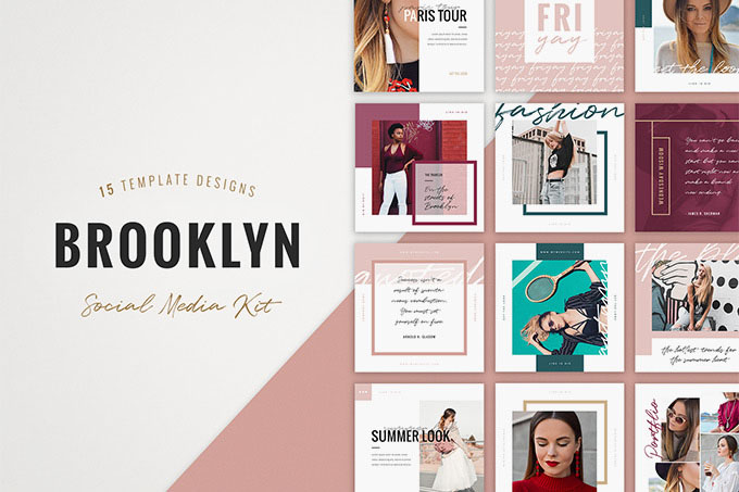 66 Premium Free Psd Instagram Fashion Templates To Be