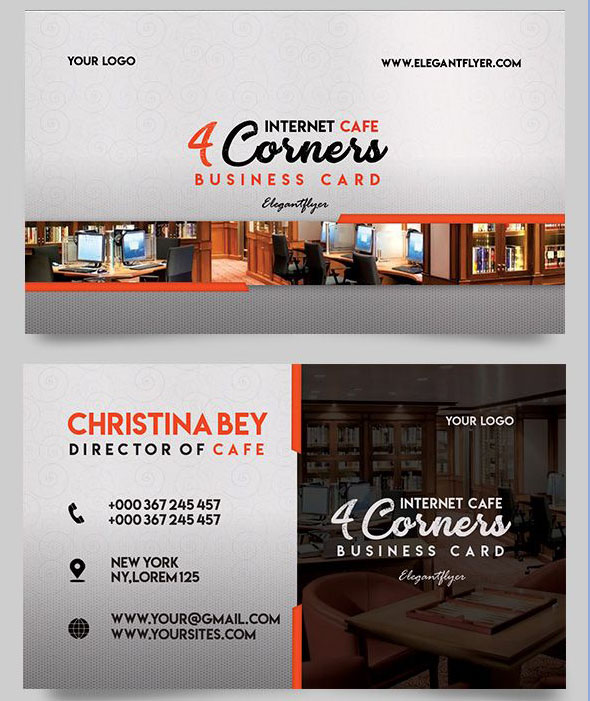 30 FREE PSD Business Cards Templates for powerful business ...