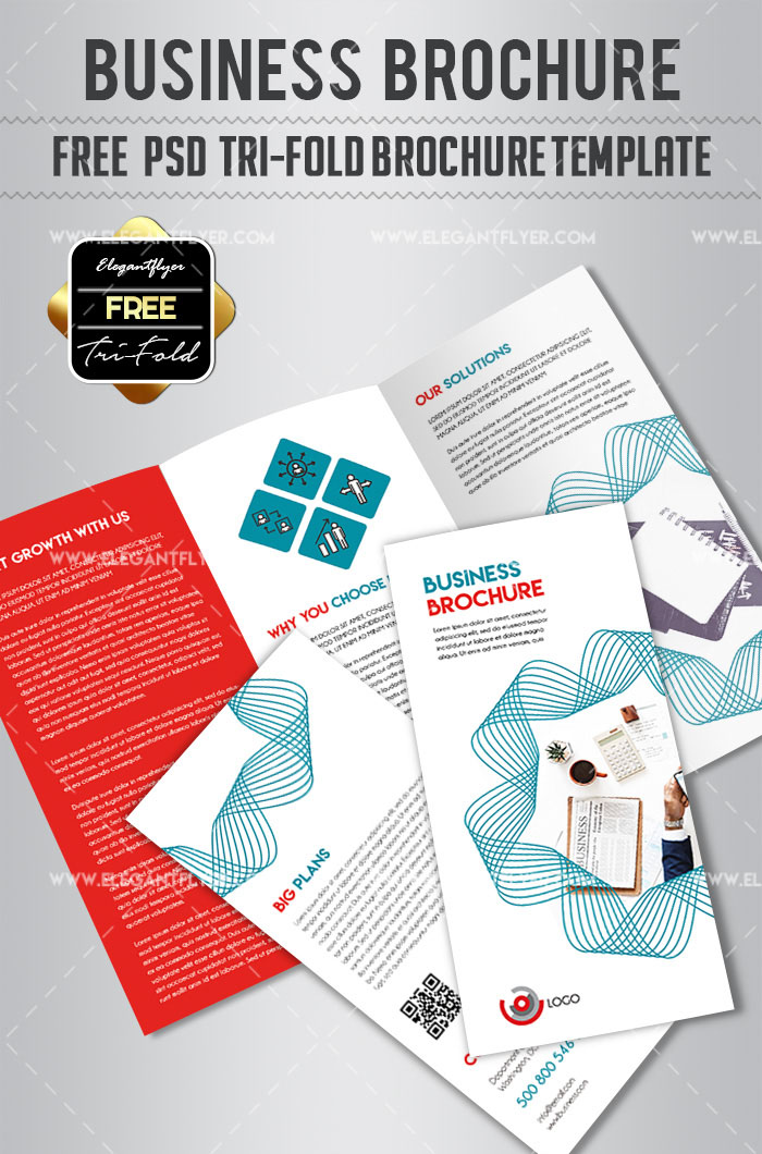 50 premium free psd tri fold brochureb templates for business and