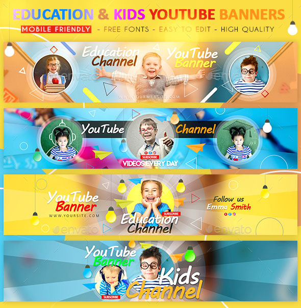 48 Free Premium Psd Youtube Channel Banners For The Best Creative Promoters Free Psd Templates
