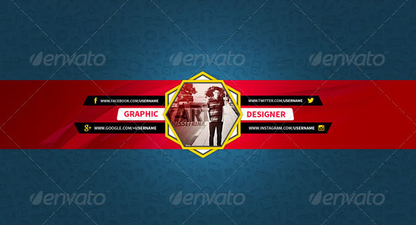 youtube cover psd +premium & free psd youtube channel banners for the best