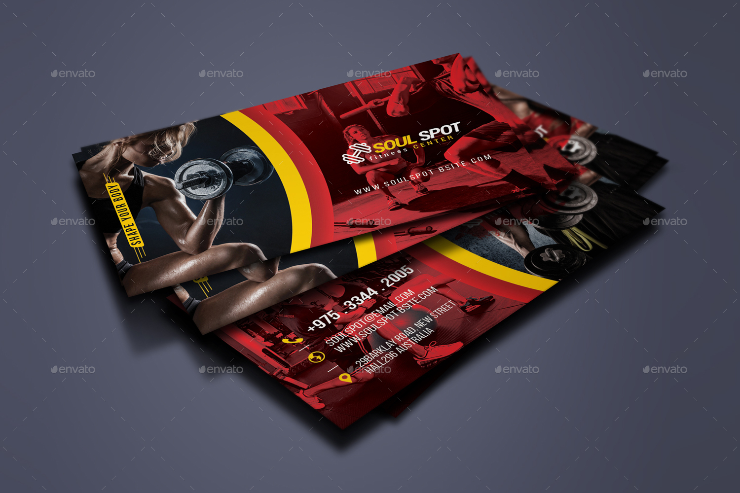 30 FREE PSD Business Cards Templates for powerful business! | Free ...