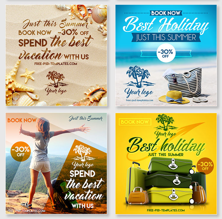 25+ Free PSD Sets Of Website And App Banners For