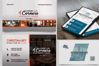 30 FREE PSD Business Cards Templates for powerful business!