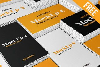 Business Card v2 – 3 Free PSD Mockups
