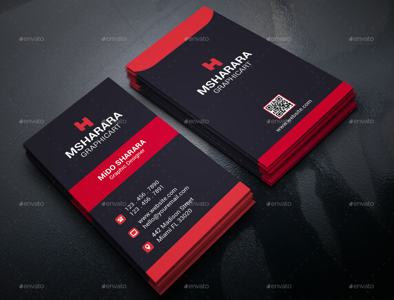 30 FREE PSD Business Cards Templates for powerful business   Free ...