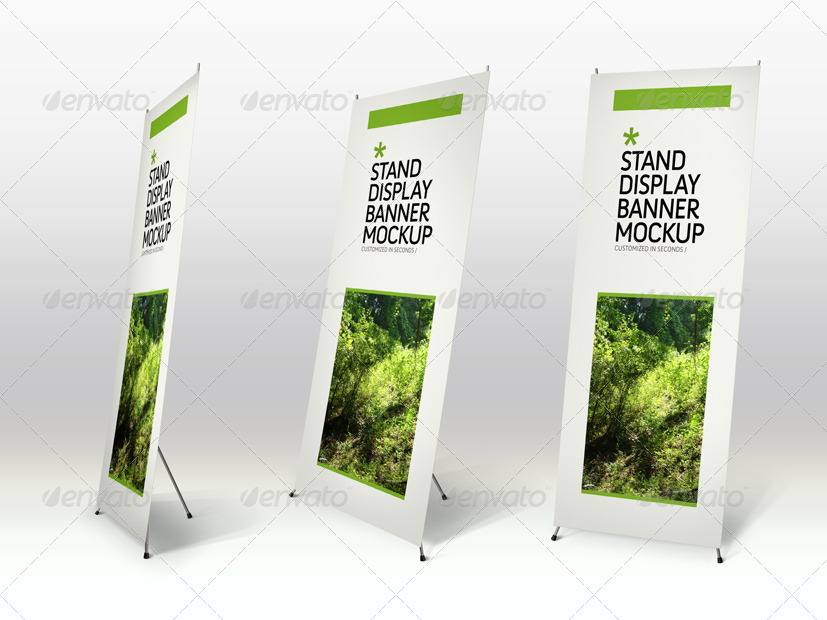 Free Pop Up Exhibition Stand Mockup : Free psd billboard banner mockups for creating the
