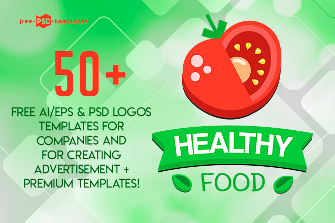50 free ai eps psd logos templates for companies and for creating