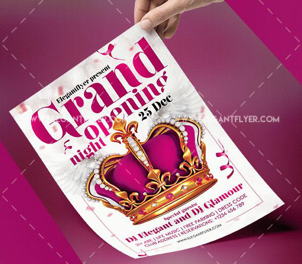 Free Psd Party  Night Club Flyer Templates For Inviting Guests