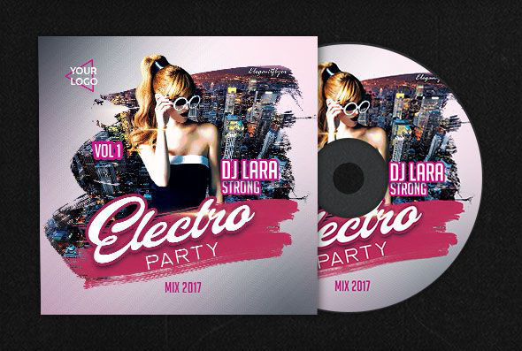Free Psd Cd Dvd Cover Templates In Psd For The Best Music And