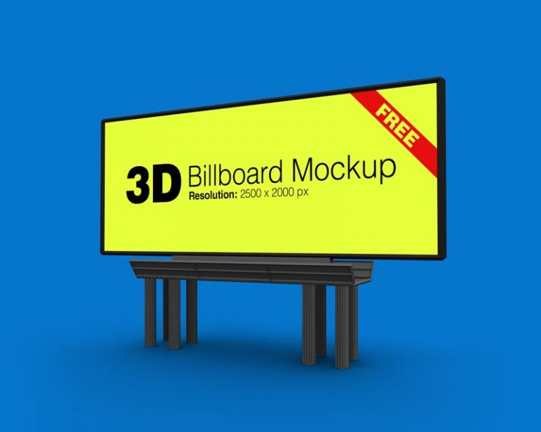 30+ Free PSD Billboard & Banner Mockups for creating the best ...