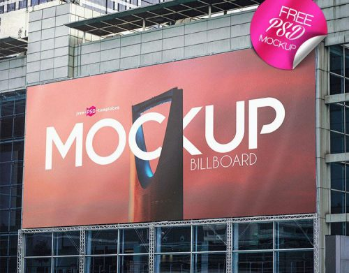 49 Free PSD Billboard amp Banner Mockups for creating the