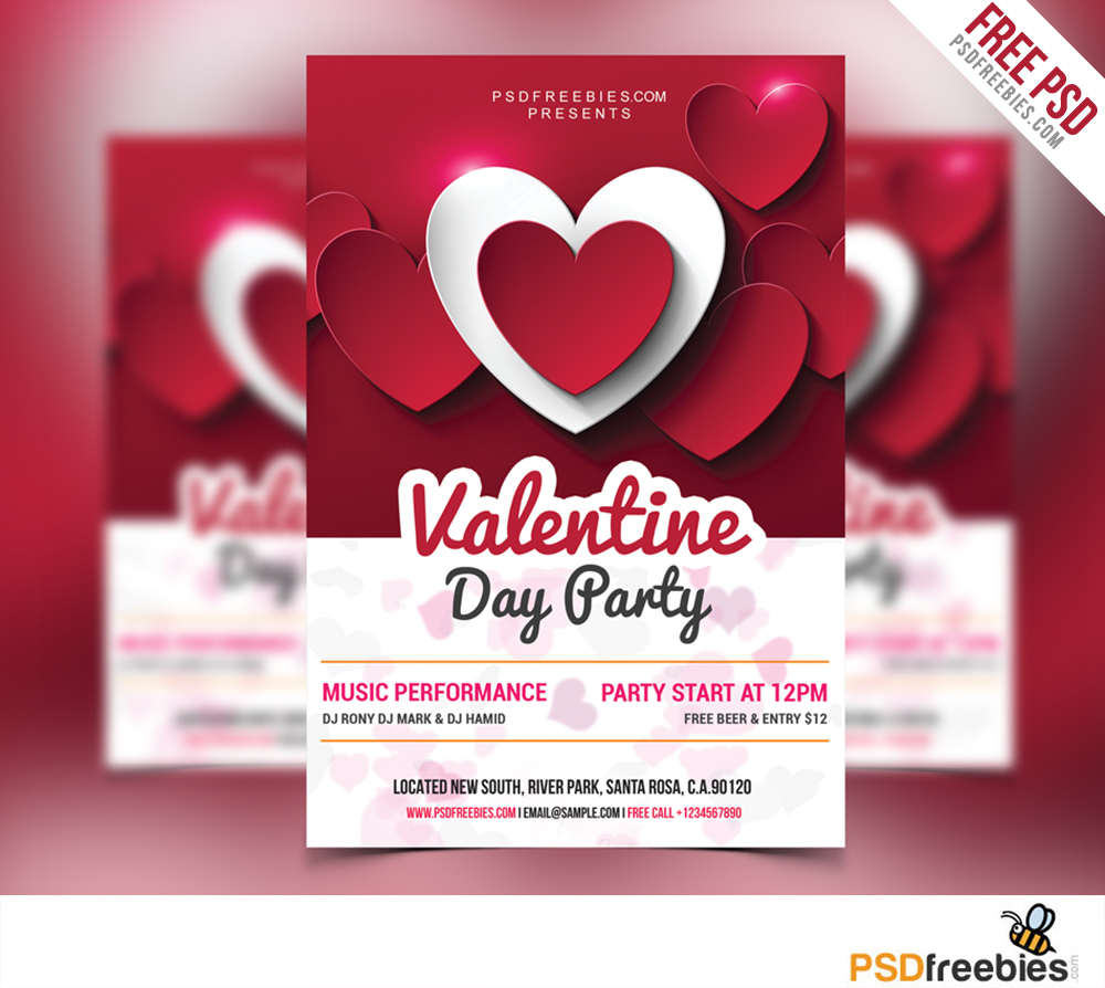 50 premium free psd flyer templates for promotin parties and