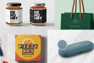 30+ Free PSD Packaging Mockups and Mockup Sets for your business and inspiration!