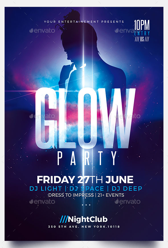 63+ PREMIUM & FREE PSD PARTY & NIGHT CLUB FLYER TEMPLATES