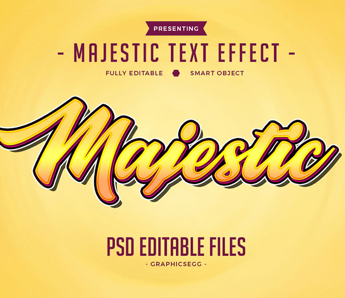 40+Premium & Free PSD 3D Amazing Text Style Effects 2018 for the