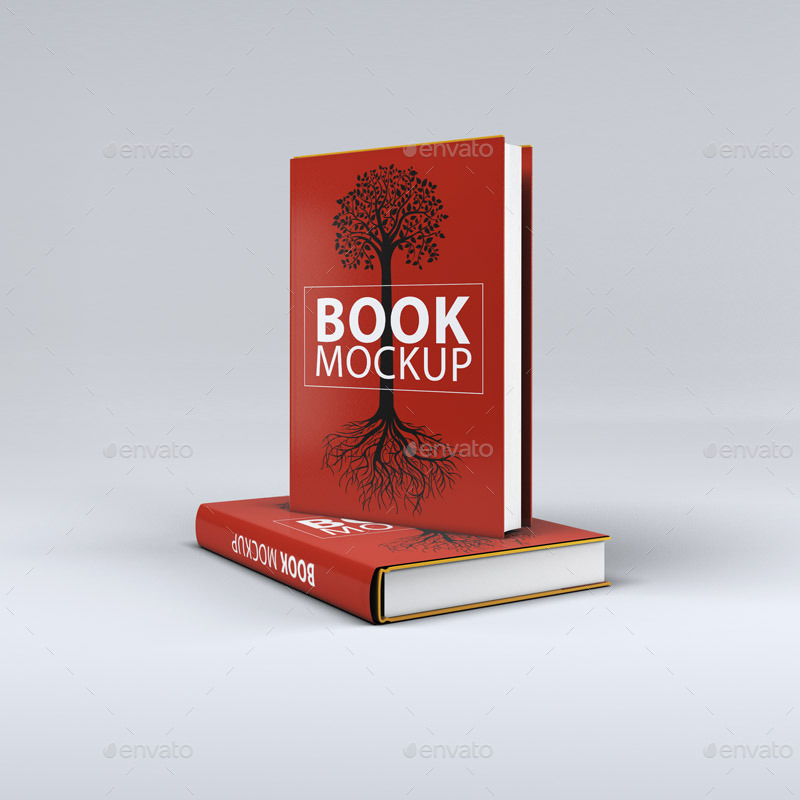 Best Book Cover Mockup : Free psd book cover mockups for business and personal
