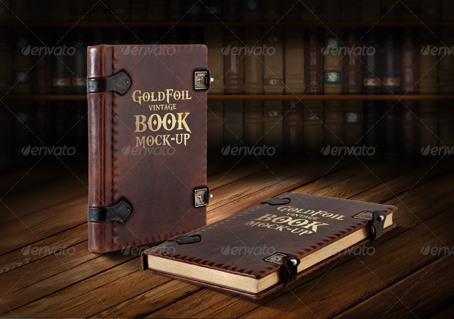 Old Book Cover Mockup : Free psd book cover mockups for business and personal