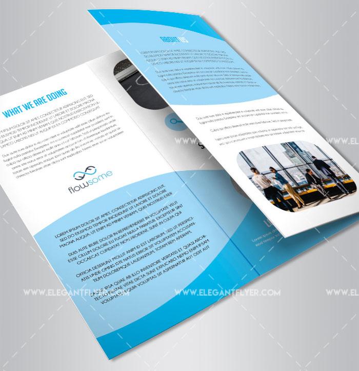 25 Free Psd Professional Bi Fold Tri Fold Brochure Templates For
