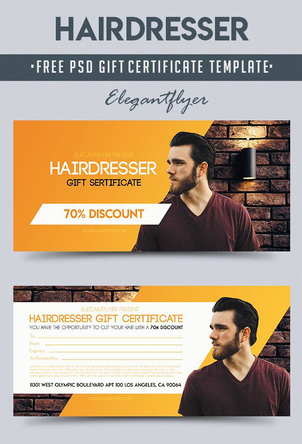 51+ Premium & Free PSD Professional Gift Certificates ...