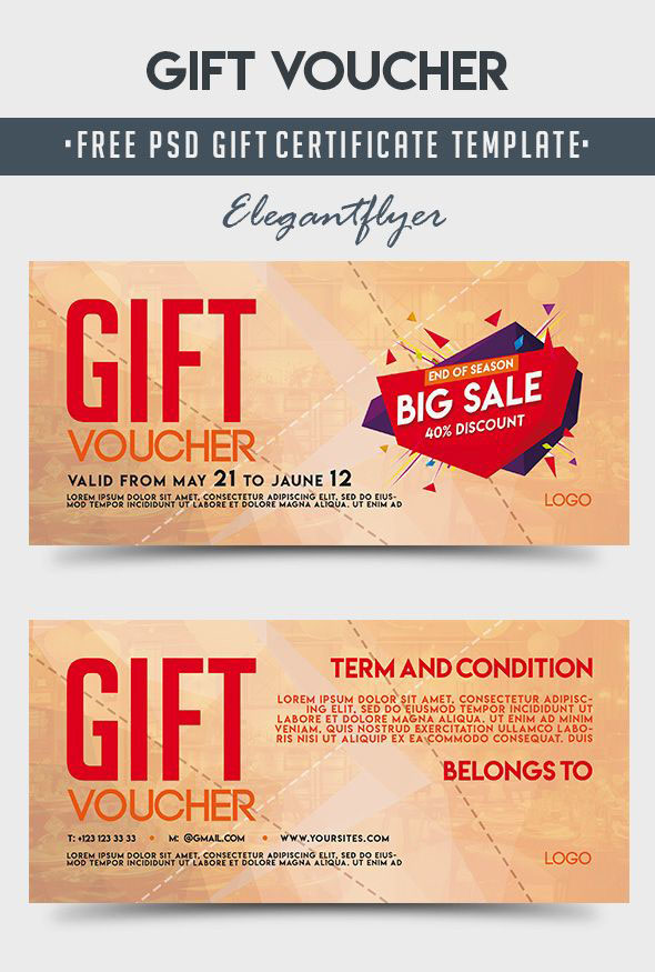 Free Gift Voucher Printable