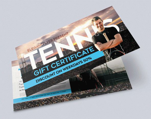 30 Free Psd Professional Gift Certificates Templates For Business