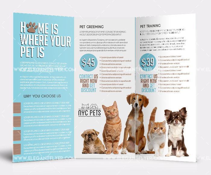 dog flyer template free