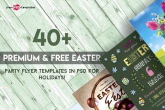 40+PREMIUM & FREE EASTER PARTY FLYER TEMPLATES IN PSD FOR HOLIDAYS!