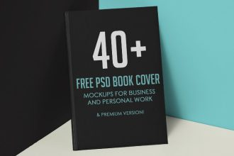 40+ Free PSD Book Cover Mockups for Business and Personal Work & Premium Version!