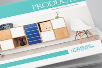 Free A5 Product Catalog Brochure Indd Template