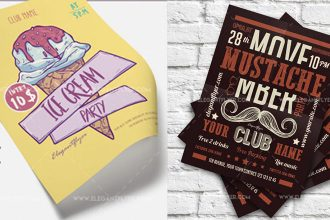 30+ Free Flyers PSD Templates for Parties and Different Events!