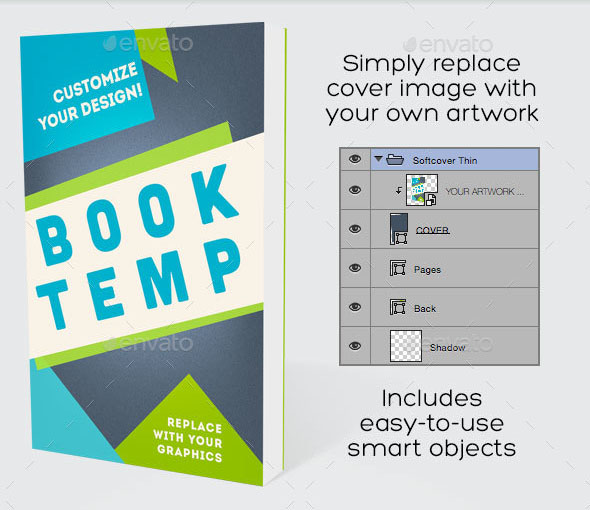 40+ Free PSD Book Cover Mockups for Business and Personal