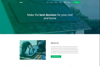 FREE PSD TEMPLATE LANDING PAGE