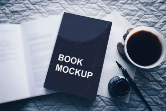 30+ Free PSD Book Cover Mockups for Business and Personal Work!