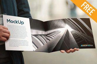 Booklet – 2 Free PSD Mockups