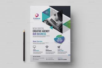 Business Advertisement: What to Choose to be the Best + 20 PSD Business Flyers!