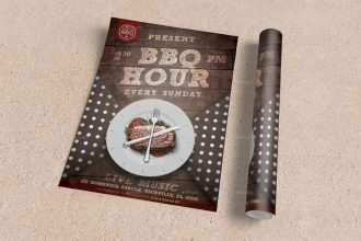20 Free PSD Barbeque Flyer Templates for the Best Events!