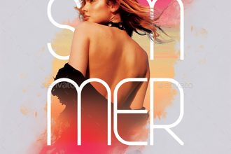 20 Free PSD Modern & Stylish Summer Flyer Templates for designers!
