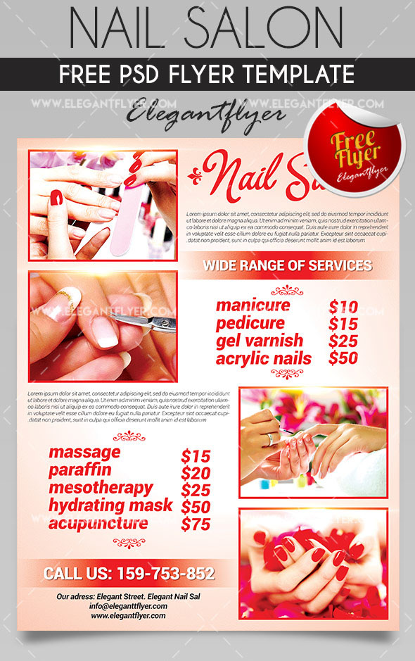 20 Free PSD Beauty & Health Care PSD Business Flyer ...